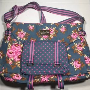 Matilda Jane Carry It Off Messenger/Tote Diaper